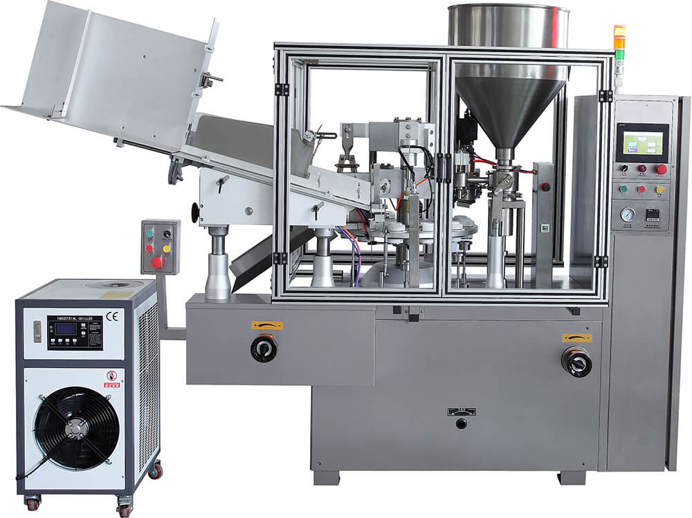 Plastic Tube Filling and Sealing Machine TFS-60A