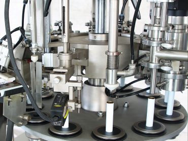 Tube Filling and Sealing Machine 12 Working Stations