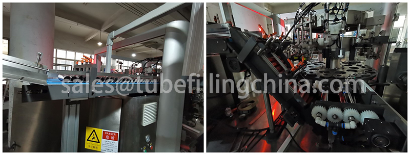 Tube Filling and Sealing Machine TFS-100
